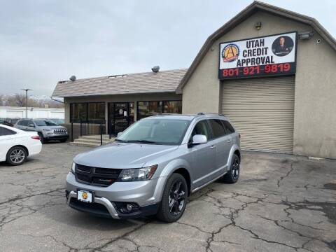 2018 Dodge Journey for sale at Utah Credit Approval Auto Sales in Murray UT