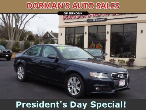 2011 Audi A4 for sale at DORMANS AUTO CENTER OF SEEKONK in Seekonk MA