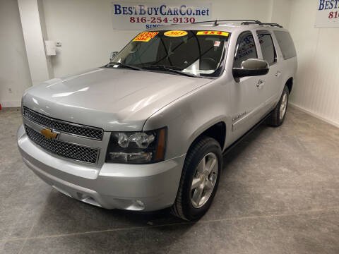 2013 Chevrolet Suburban for sale at Best Buy Car Co in Independence MO