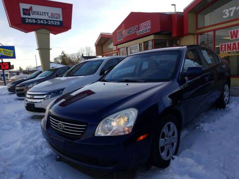 2008 Kia Optima for sale at Quality Auto Today in Kalamazoo MI