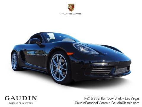 2018 Porsche 718 Boxster for sale at Gaudin Porsche in Las Vegas NV