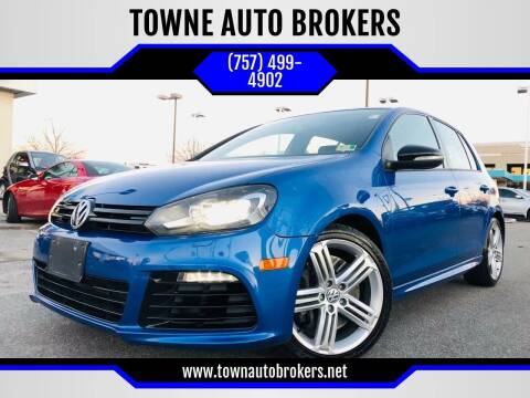 2012 Volkswagen Golf R for sale at TOWNE AUTO BROKERS in Virginia Beach VA