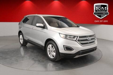 2017 Ford Edge for sale at K&M Wayland Chrysler  Dodge Jeep Ram in Wayland MI