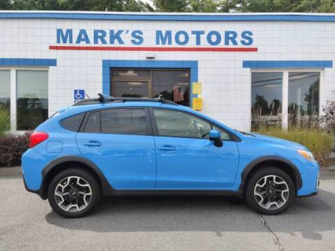 2017 Subaru Crosstrek for sale at Mark's Motors in Northampton MA