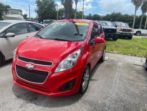 2014 Chevrolet Spark for sale at DAN'S DEALS ON WHEELS in Davie FL