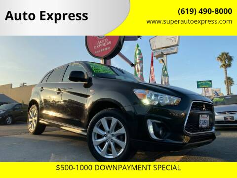 2015 Mitsubishi Outlander Sport for sale at Auto Express in Chula Vista CA
