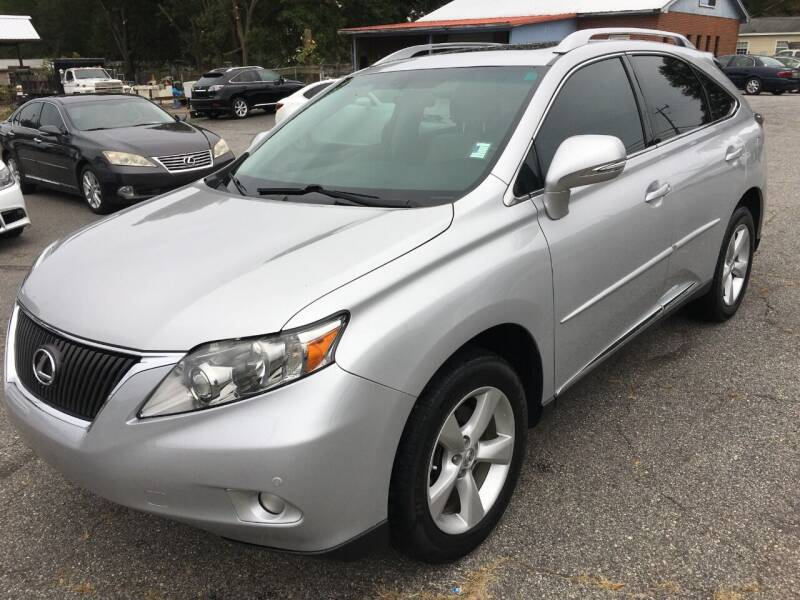 2012 Lexus RX 350 for sale at Signal Imports INC in Spartanburg SC