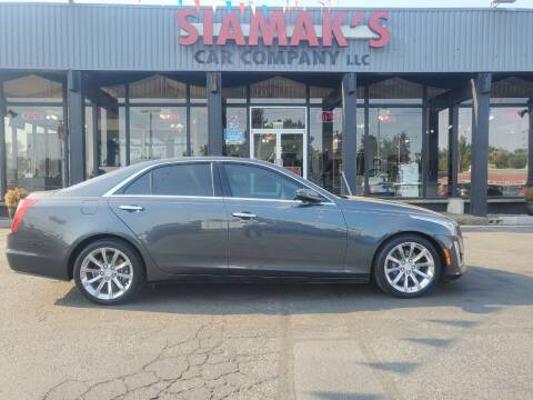 2017 Cadillac CTS for sale at Siamak's Car Company llc in Salem OR