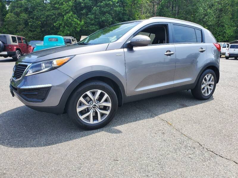 2015 Kia Sportage for sale at Brown's Used Auto in Belmont NC