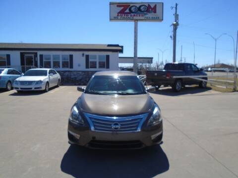 2014 Nissan Altima for sale at Zoom Auto Sales in Oklahoma City OK