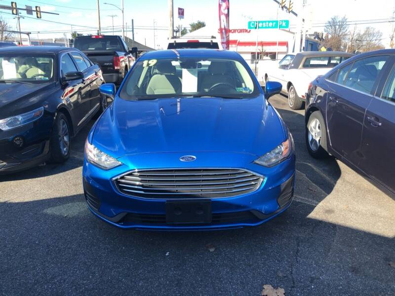 2019 Ford Fusion for sale at Sharon Hill Auto Sales LLC in Sharon Hill PA