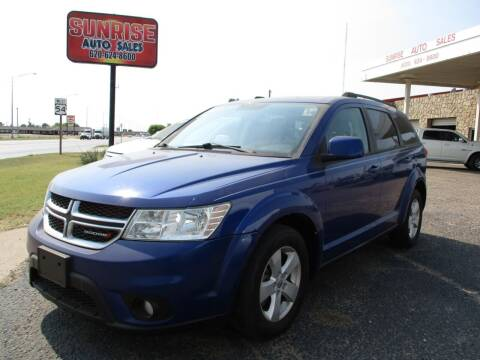2012 Dodge Journey for sale at Sunrise Auto Sales in Liberal KS