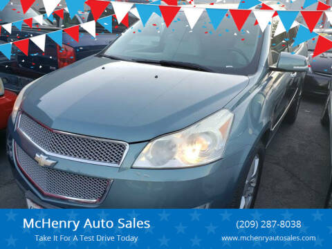 2009 Chevrolet Traverse for sale at McHenry Auto Sales in Modesto CA