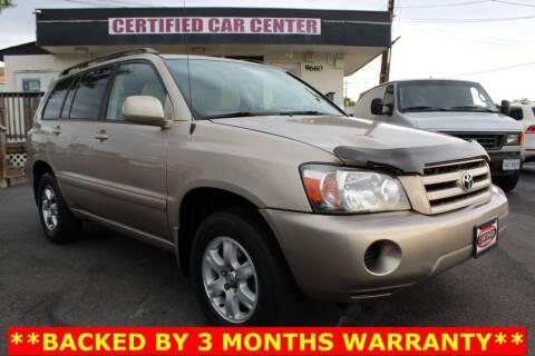 2007 Toyota Highlander for sale at CERTIFIED CAR CENTER in Fairfax VA