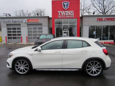 2015 Mercedes-Benz GLA for sale at Twins Auto Sales Inc in Detroit MI