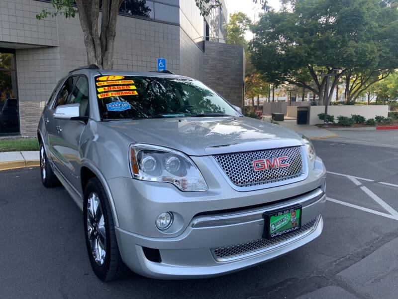 2012 GMC Acadia for sale at Right Cars Auto Sales in Sacramento CA