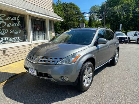 2006 Nissan Murano for sale at Real Deal Auto Sales in Auburn ME