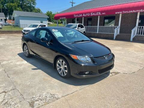 2012 Honda Civic for sale at Taylor Auto Sales Inc in Lyman SC