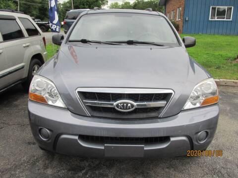 2009 Kia Sorento for sale at Mid - Way Auto Sales INC in Montgomery NY