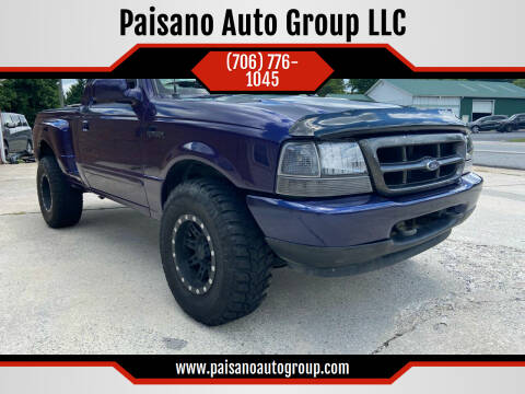 1998 Ford Ranger for sale at Paisano Auto Group LLC in Cornelia GA