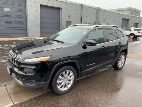 2017 Jeep Cherokee for sale at The Car Buying Center in St Louis Park MN