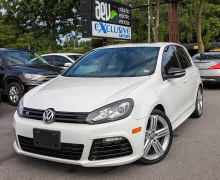 2012 Volkswagen Golf R for sale at EXCLUSIVE MOTORS in Virginia Beach VA