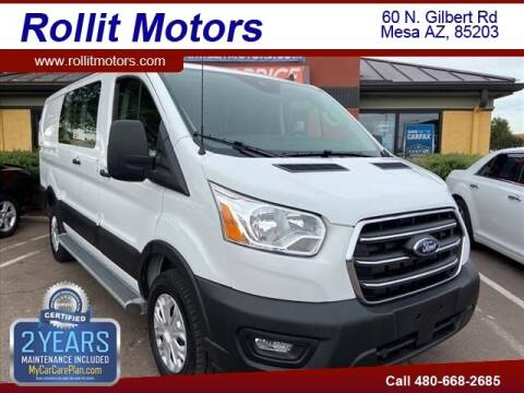 2020 Ford Transit Cargo for sale at Rollit Motors in Mesa AZ