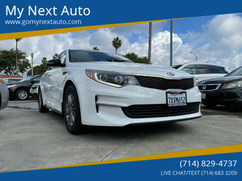 2017 Kia Optima for sale at My Next Auto in Anaheim CA