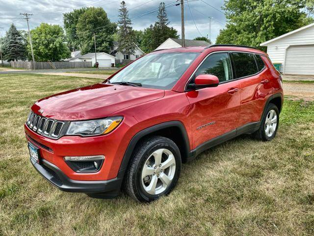 2018 Jeep Compass for sale at Waconia Auto Detail in Waconia MN