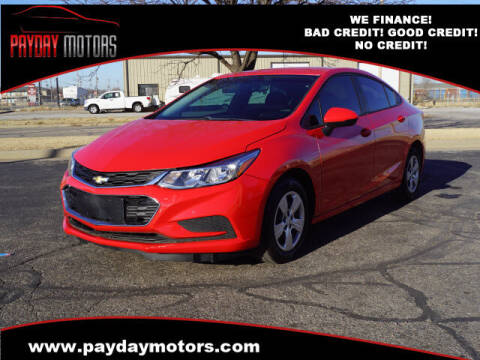 2017 Chevrolet Cruze for sale at Payday Motors in Wichita And Topeka KS