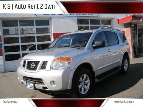 2014 Nissan Armada for sale at K & J Auto Rent 2 Own in Bountiful UT