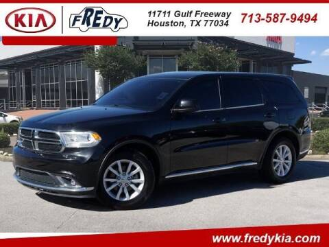 2014 Dodge Durango for sale at FREDY KIA USED CARS in Houston TX