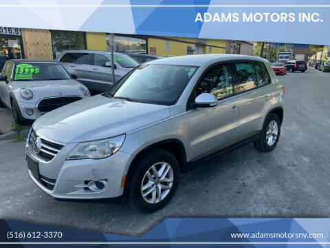 2011 Volkswagen Tiguan for sale at Adams Motors INC. in Inwood NY