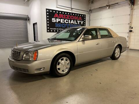 2005 Cadillac DeVille for sale at Arizona Specialty Motors in Tempe AZ