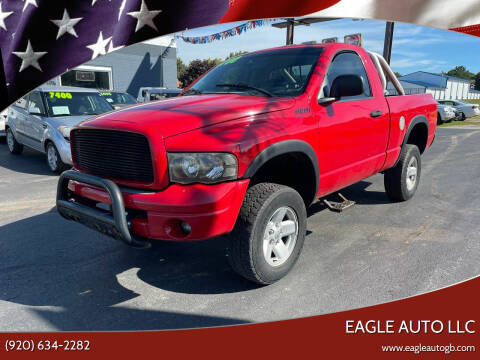 2003 Dodge Ram Pickup 1500 for sale at Eagle Auto LLC in Green Bay WI