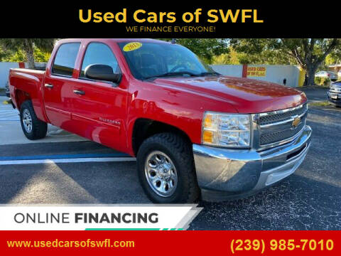 2013 Chevrolet Silverado 1500 for sale at Used Cars of SWFL in Fort Myers FL