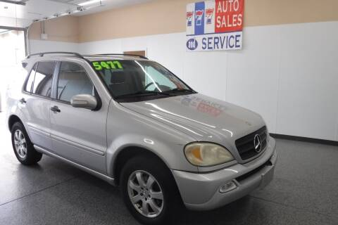 2003 Mercedes-Benz M-Class for sale at 777 Auto Sales and Service in Tacoma WA