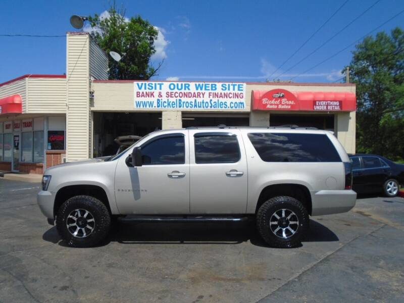 2009 Chevrolet Suburban for sale at Bickel Bros Auto Sales, Inc in Louisville KY