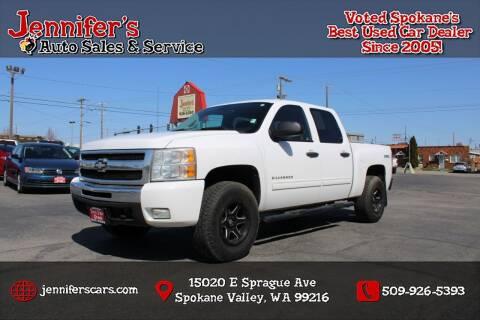2011 Chevrolet Silverado 1500 for sale at Jennifer's Auto Sales in Spokane Valley WA
