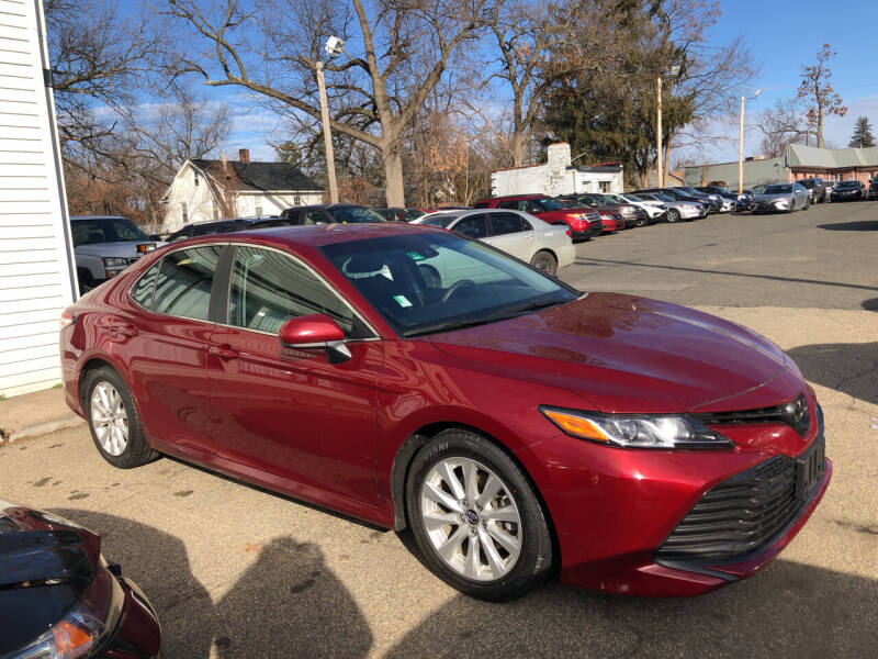 2018 Toyota Camry for sale at Chris Auto Sales in Springfield MA