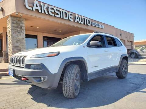 2014 Jeep Cherokee for sale at Lakeside Auto Brokers Inc. in Colorado Springs CO