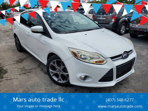 2014 Ford Focus for sale at Mars auto trade llc in Kissimmee FL