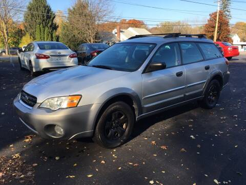 2007 Subaru Outback for sale at Delafield Motors in Glenville NY
