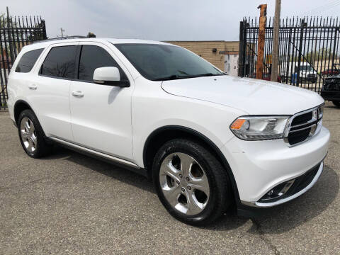 2015 Dodge Durango for sale at SKY AUTO SALES in Detroit MI