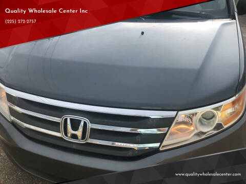 2011 Honda Odyssey for sale at Quality Wholesale Center Inc in Baton Rouge LA