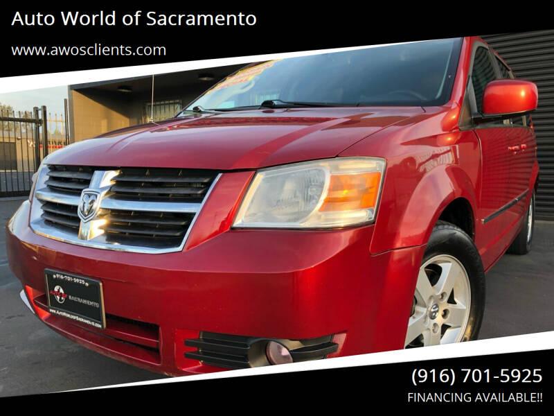 2010 Dodge Grand Caravan for sale at Auto World of Sacramento Stockton Blvd in Sacramento CA