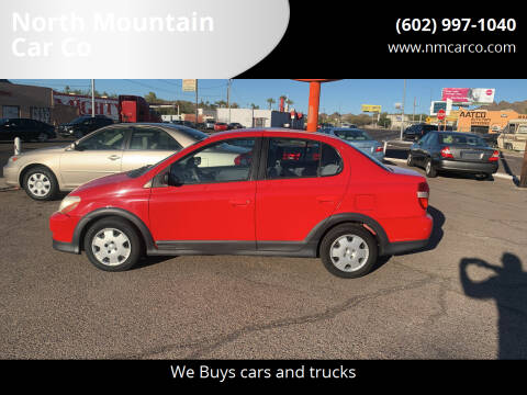 2002 Toyota ECHO for sale at North Mountain Car Co in Phoenix AZ
