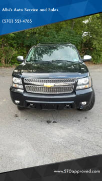 2012 Chevrolet Suburban for sale at Albi's Auto Service and Sales in Archbald PA