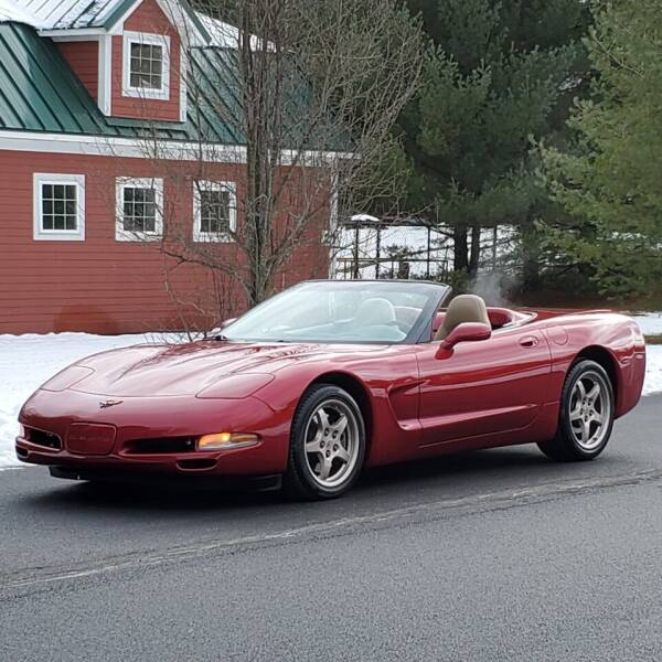 2001 Chevrolet Corvette for sale at R & R AUTO SALES in Poughkeepsie NY