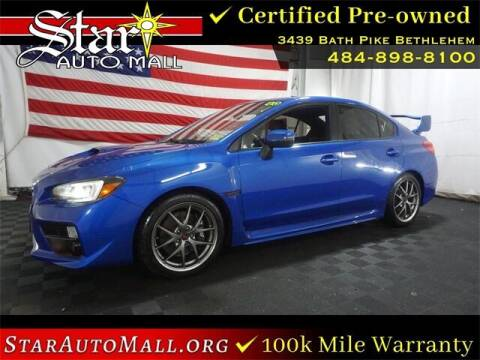 2016 Subaru WRX for sale at STAR AUTO MALL 512 in Bethlehem PA